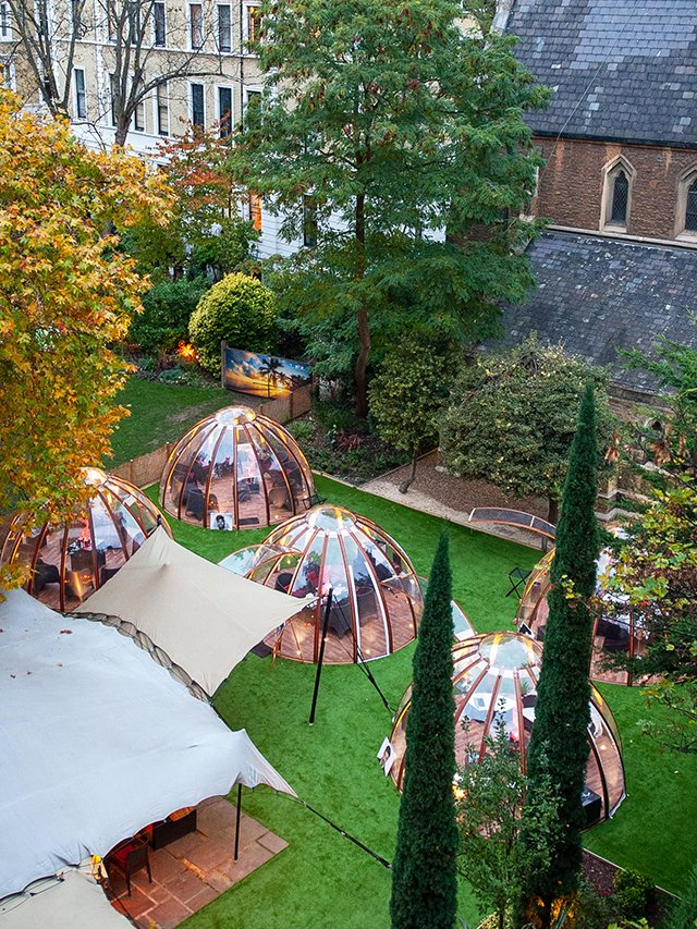 You Can Now Eat Inside An Incredible Private Dome In A Secret Garden Tyla
