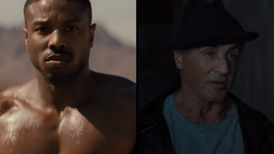 ivan drago returns for first time since 39 rocky iv 39 in brand new 39 creed ii 39 trailer ladbible. Black Bedroom Furniture Sets. Home Design Ideas