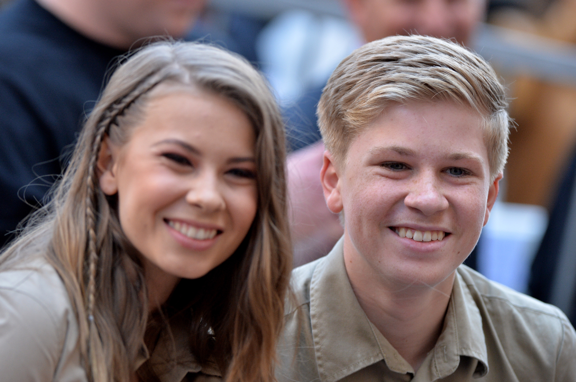 Steve Irwin's Children - Bindi and Robert. Credit: PA