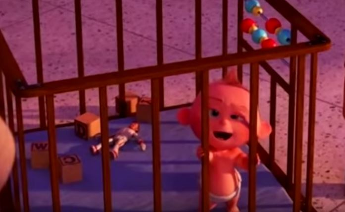 Duke Caboom first appeared in Incredibles 2. Credit: Pixar
