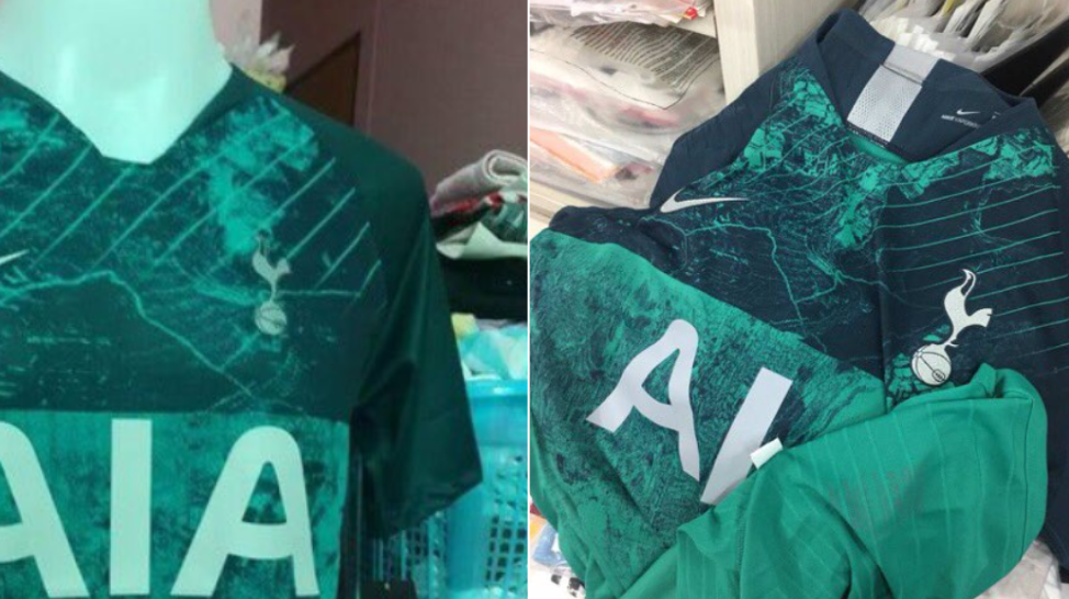 Tottenham's Leaked Third Kit Is One Of The Strangest Designs Ever