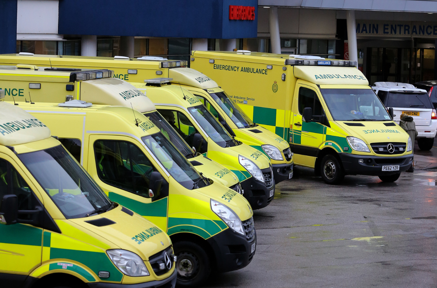 Woman arrested after telling ambulance crew they parked in her way