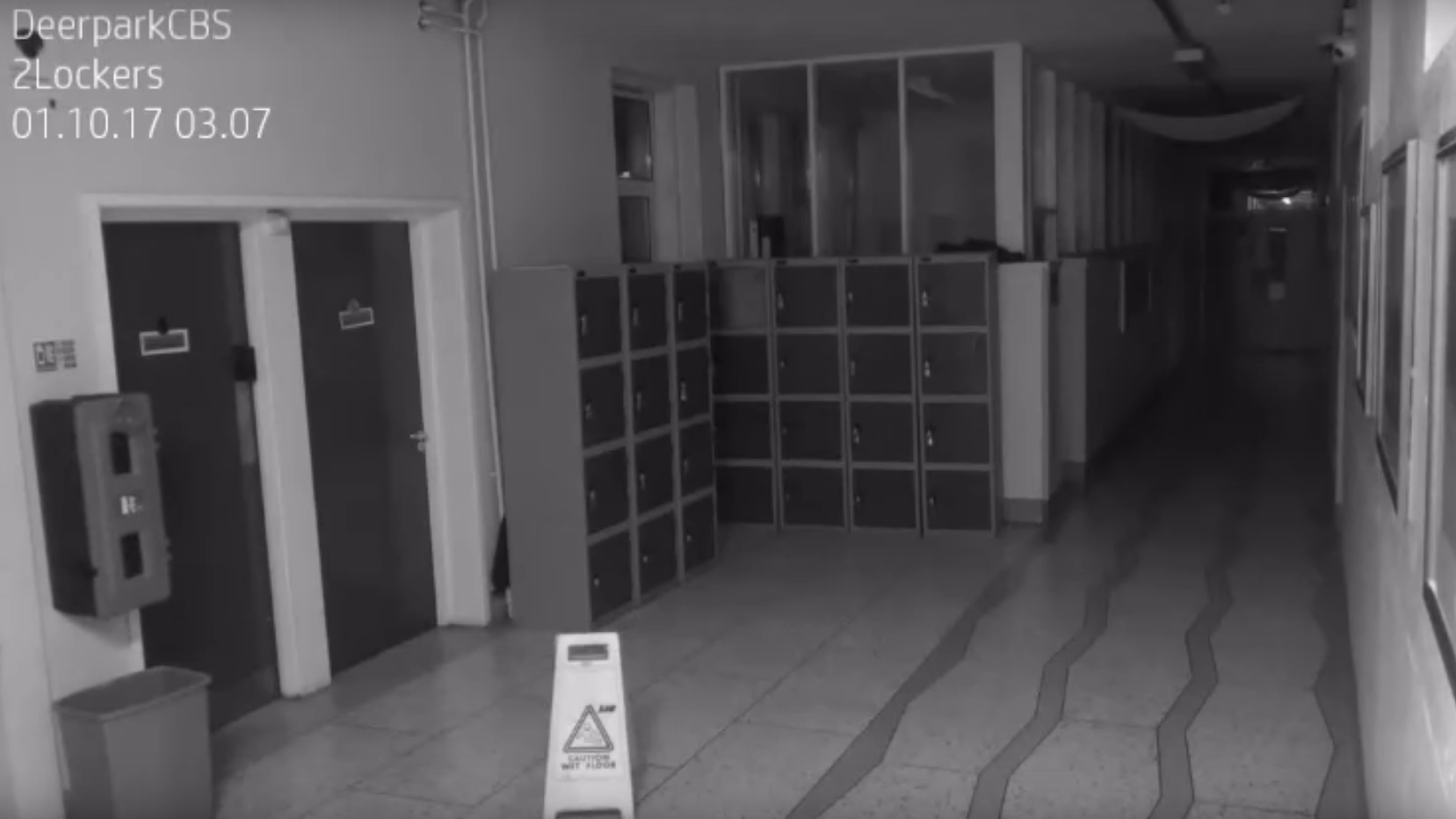 A 'Ghost' Has Been Captured On Camera In A School In Haunting Footage