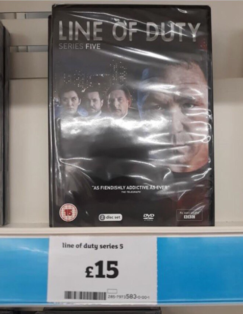 Shoppers have spotted season five on sale at Sainsbury's 24 hours before the final episode is aired. Credit: Twitter