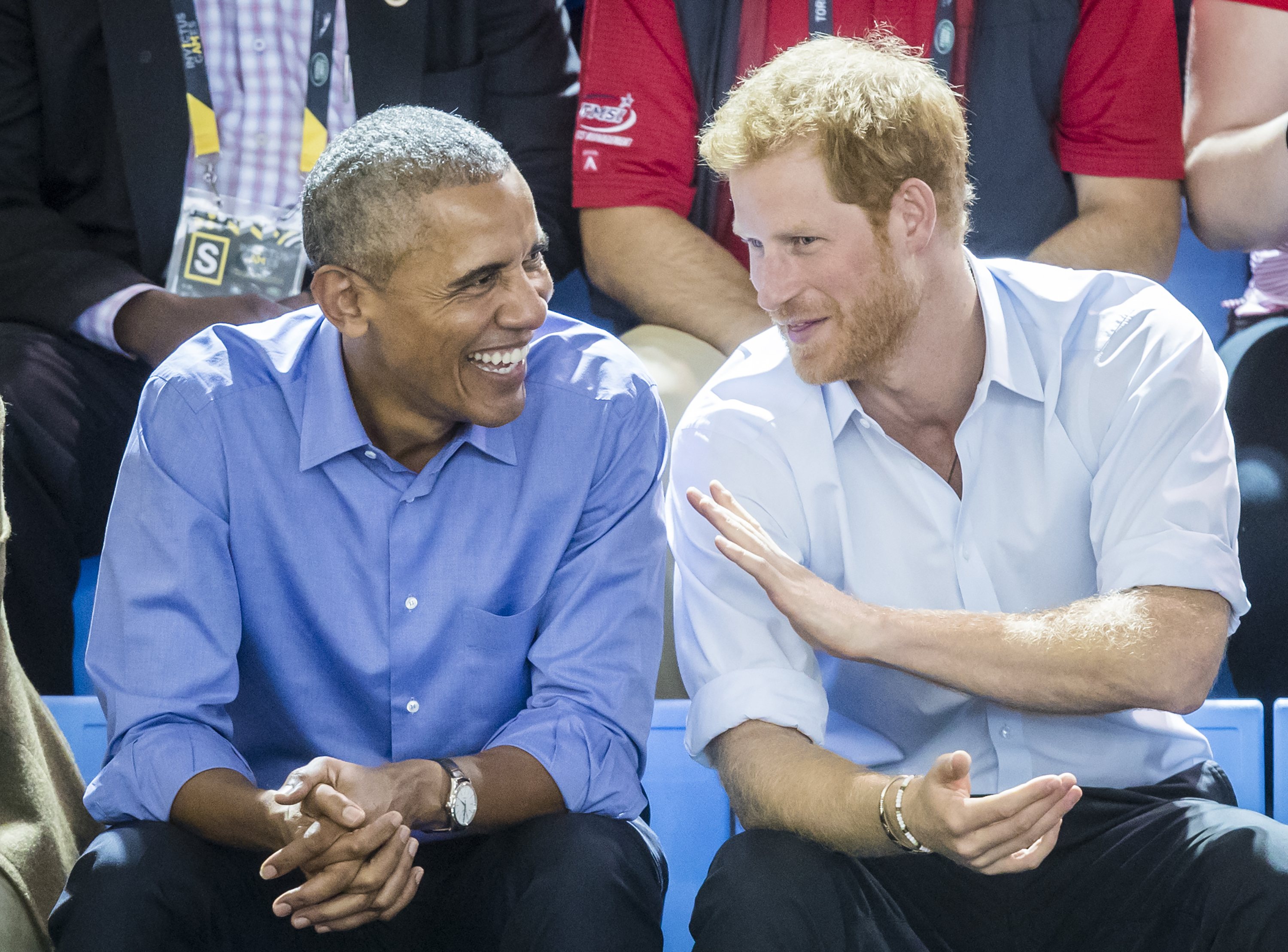 Prince Harry Warns Barack Obama ... Don't Make Me Give You 'the Face'