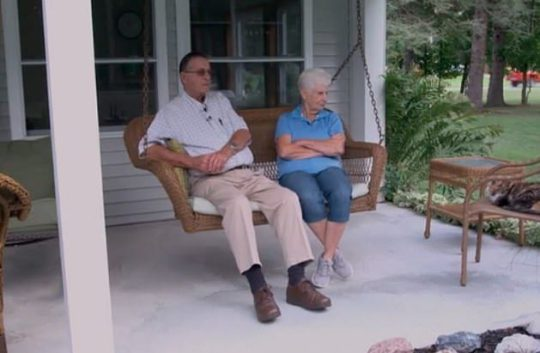Jerry and Marge retired to put their feet up but became millionaires in the process. Credit: CBS
