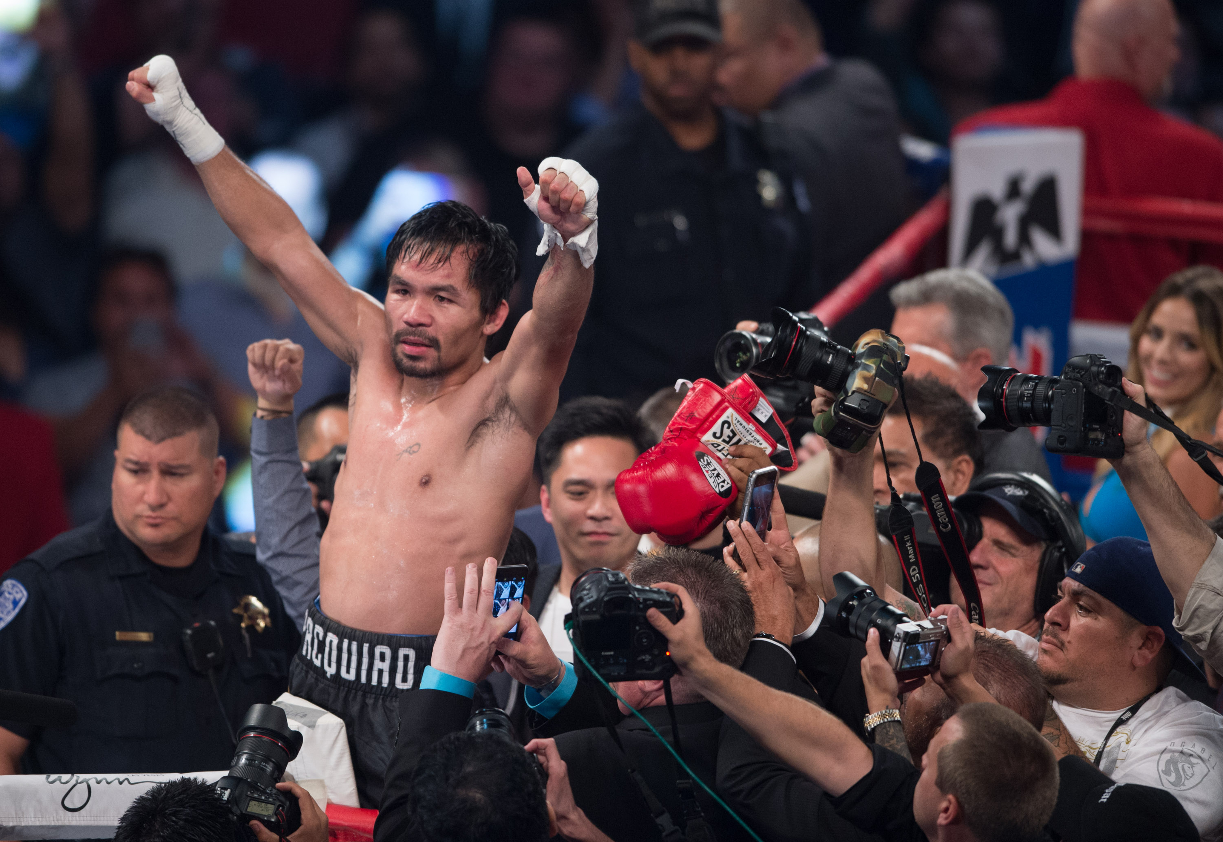 Twitter Reacts To This Week's Bonkers Pacquiao Vs. McGregor Speculation