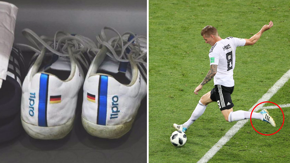 3a2a25b3930 Toni Kroos Has Been Wearing The Same Make Of Football Boots Since In 2014