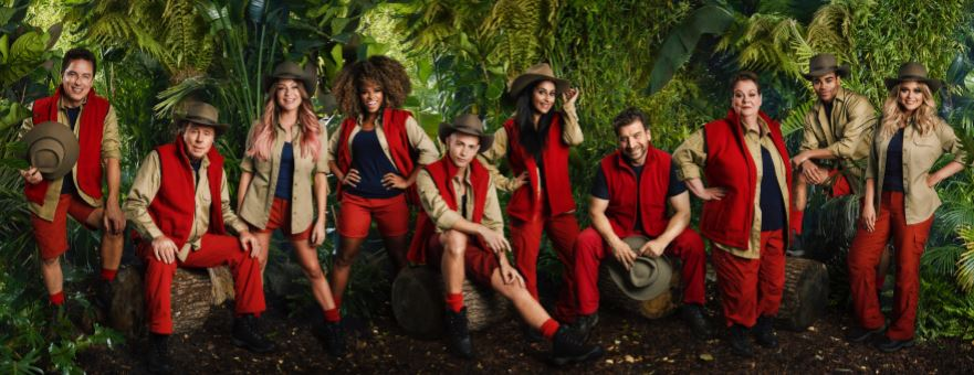 I'm A Celebrity... Get Me Out Of Here! 2018 Line Up. Credit: ITV
