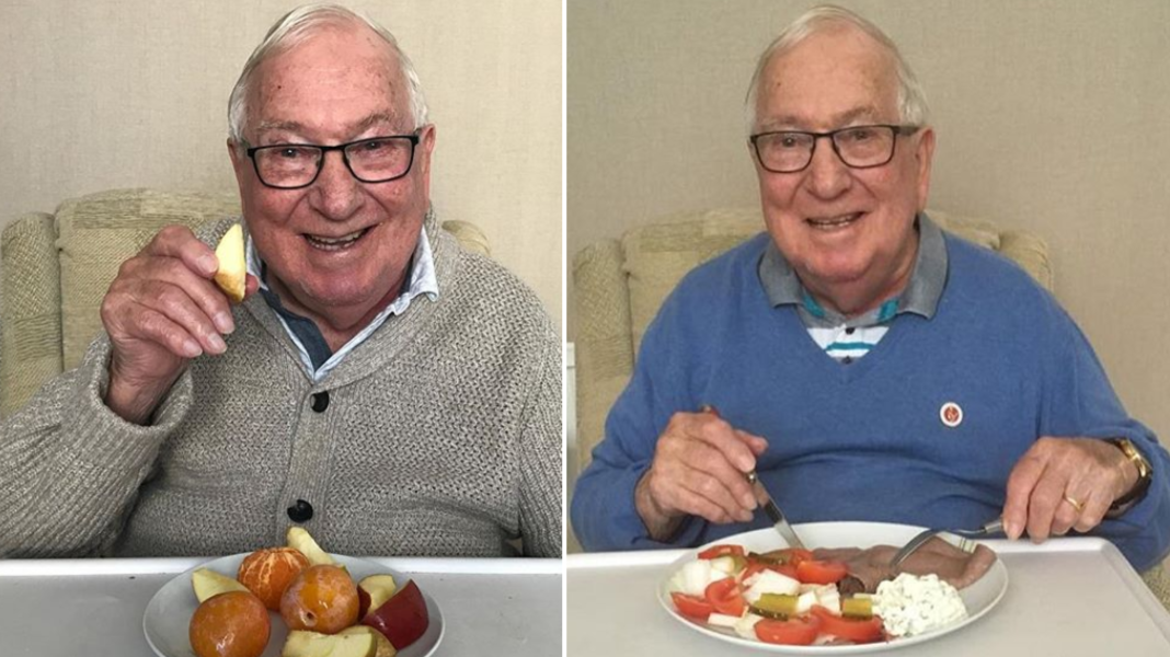 85-Year-Old Man Becomes An Internet Sensation With His Diet Instagram Account
