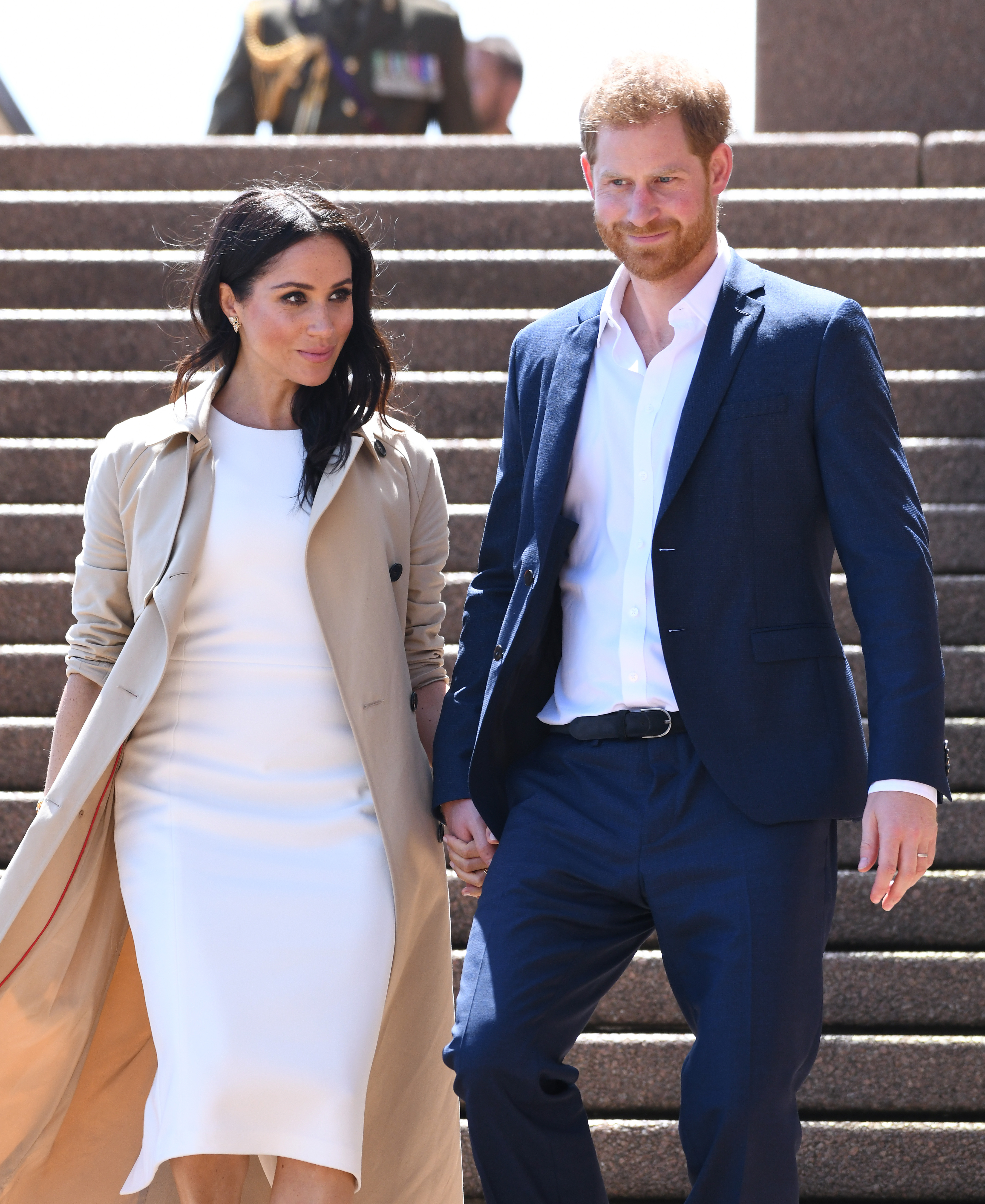 Prince Harry & Meghan Markle Hit the Beach in Melbourne!
