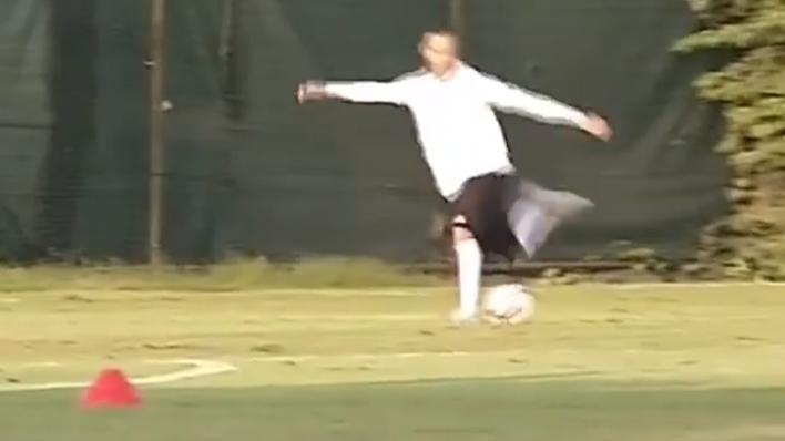 Ricardo Quaresma Humiliates Loris Karius With The Most Outrageous Rabona In Training