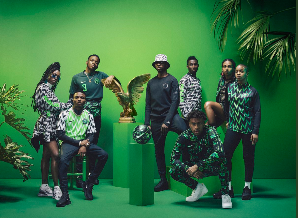 nigeria s beautiful 2018 world cup collection is finally