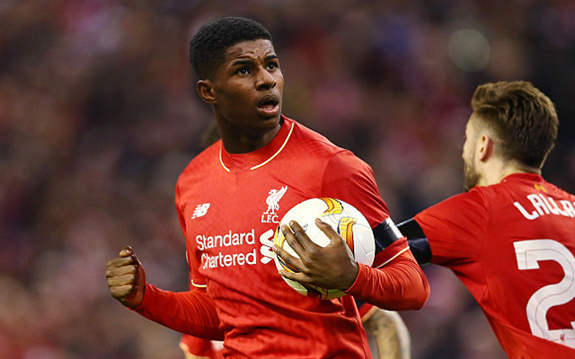 Liverpool S New Sponsor Delete Strange Twitter Post About Manchester United S Marcus Rashford Sportbible