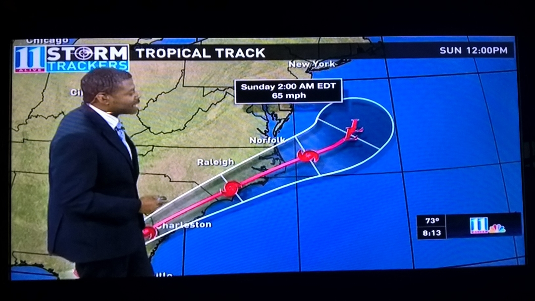 Hurricane Hermine looks massive...