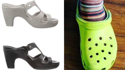 You Can Now Buy Heeled Crocs And They're Just What You'd Expect