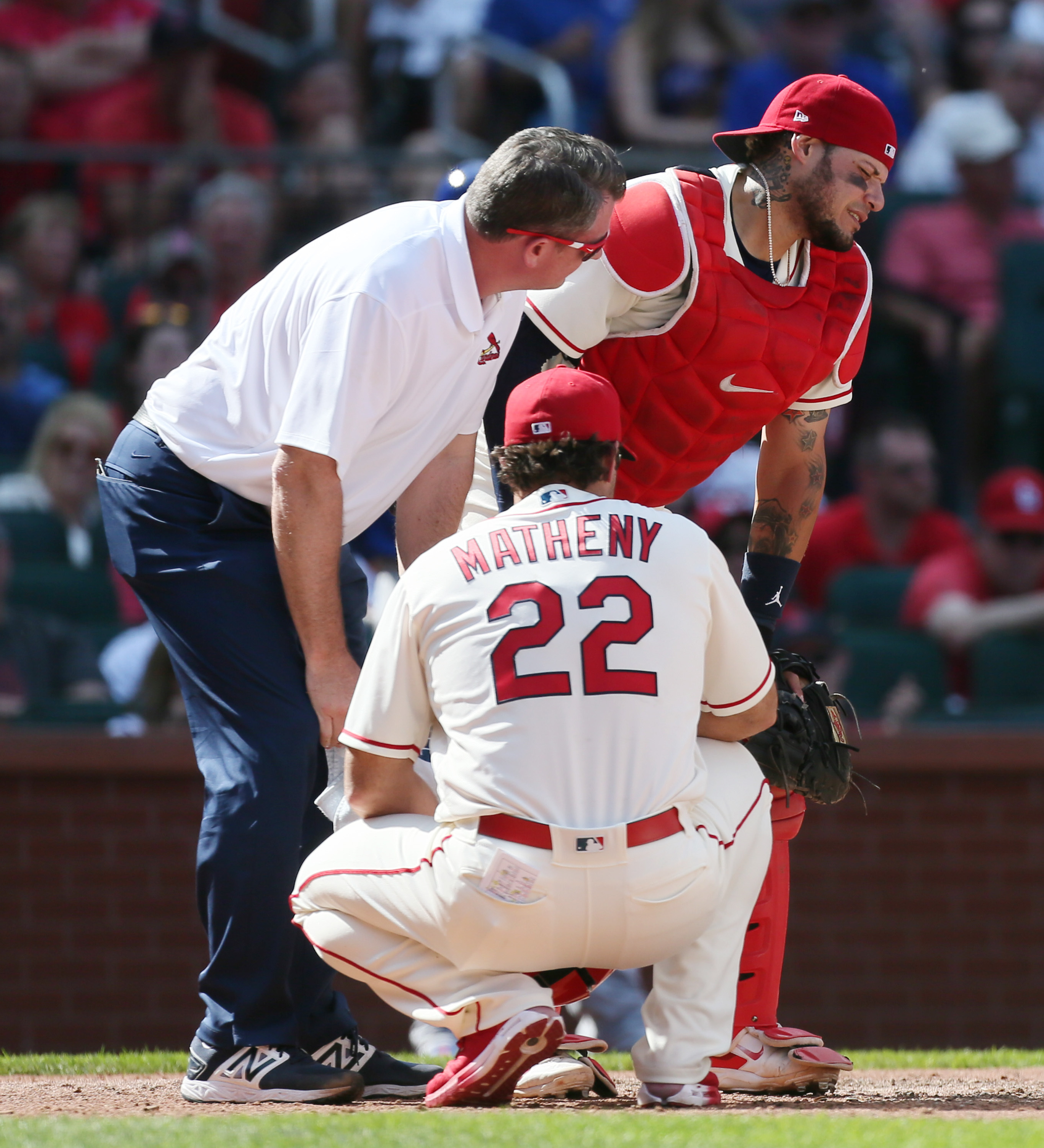 Molina has Surgery Following Foul Tip to the Groin