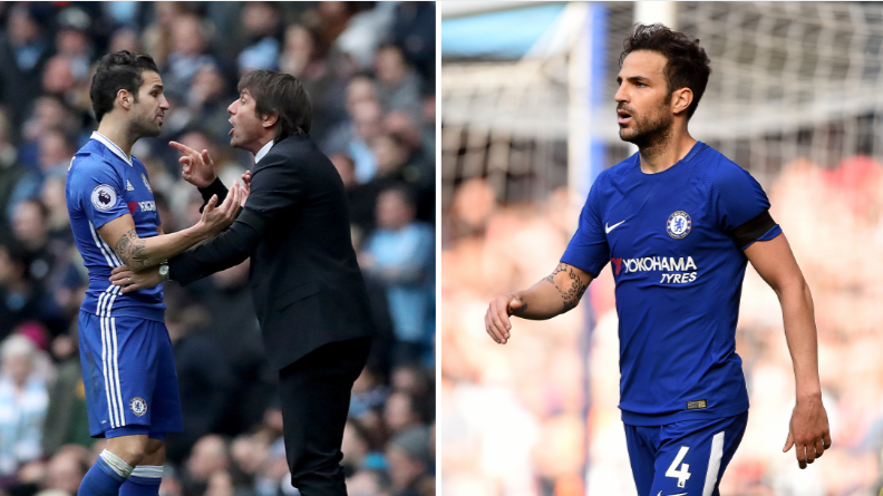 Cesc Fabregas Has To Apologise After 'Liking' Antonio Conte's Departure
