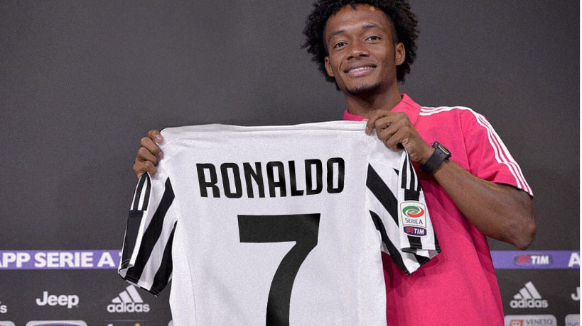 Juan Cuadrado Sends Classy Message To Cristiano Ronaldo After Giving Him His Shirt Number