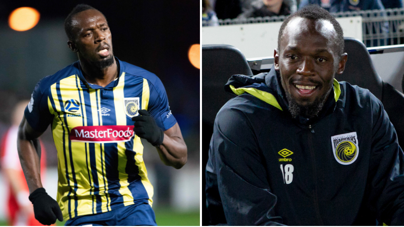 What Pogba And Sterling Told Usain Bolt About His Ambitions To Become A Footballer