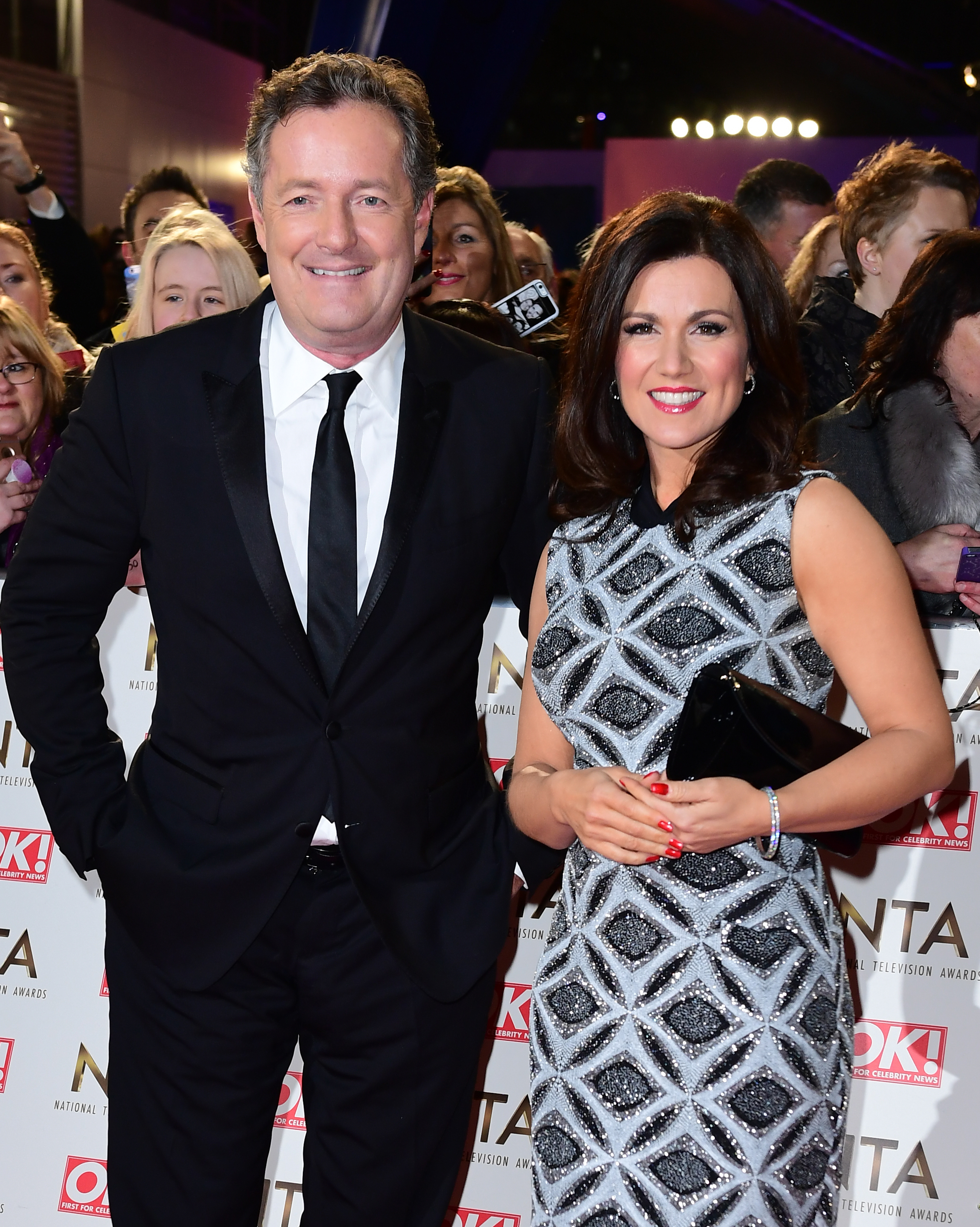 Piers and Susanna. Credit: PA