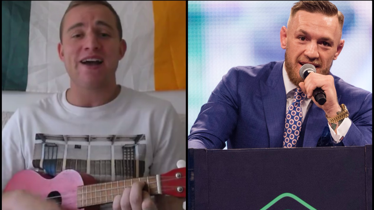 Conor McGregor Has Great Gesture For Fan Who Wrote Song About Him