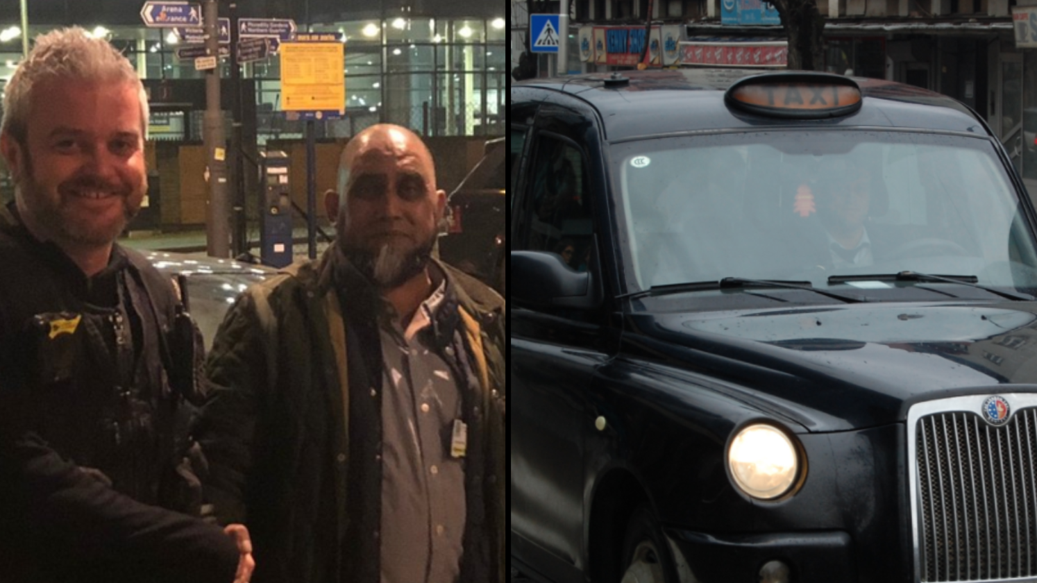 Taxi Driver Gets Ripped Off But By Fare-Dodgers But Still Receives Cash In The End