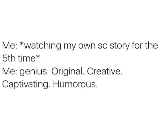 If this ain't me...