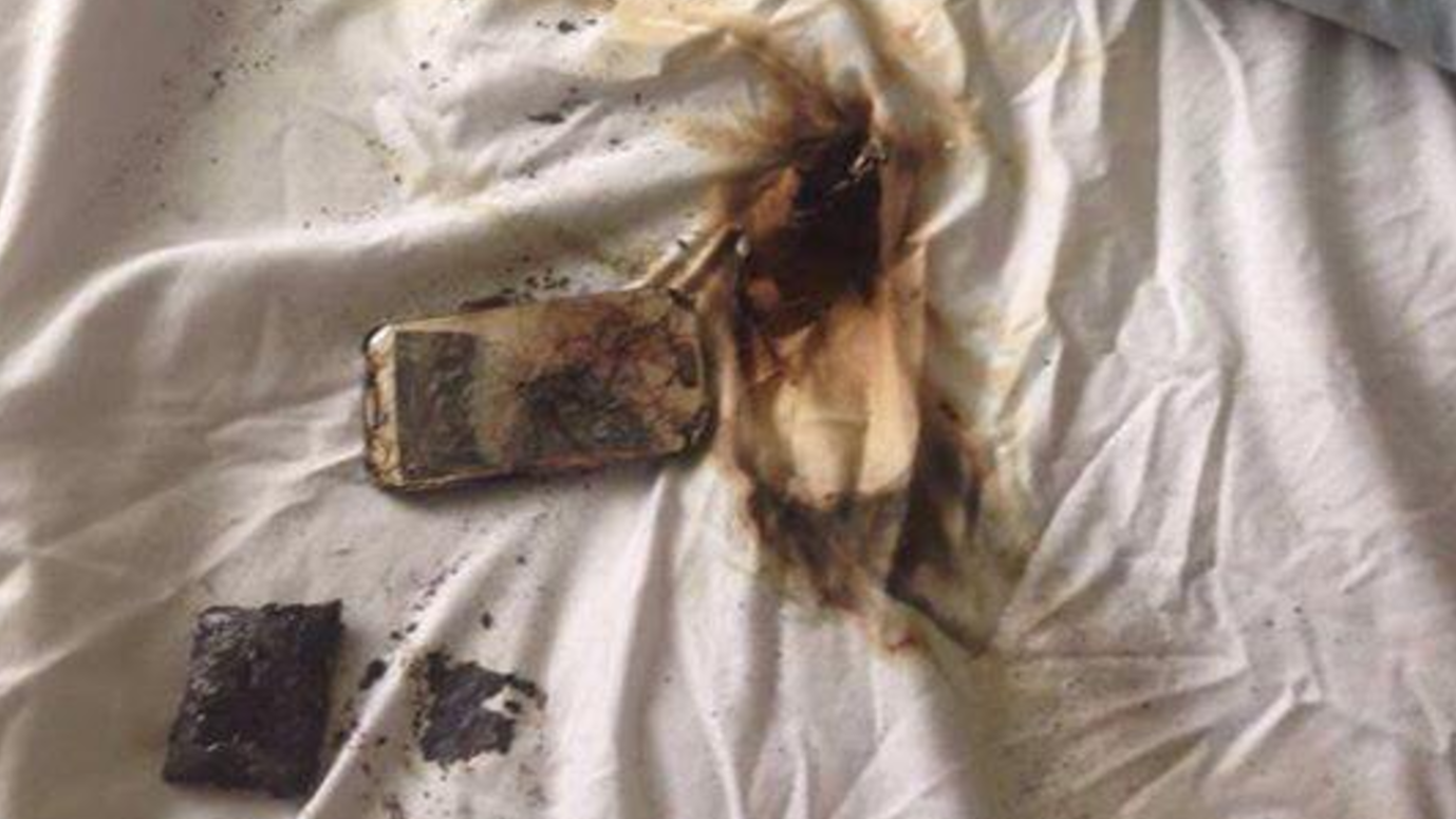 Fire Brigade Warn About Overcharging Phones Catching Fire On Twitter