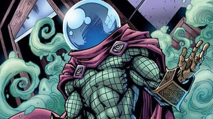 Mysterio in his traditional fishbowl helmet. Credit: Marvel Comics