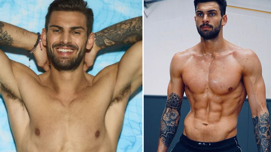 Love Island's Adam Collard Underwent A Massive Body Transformation Before The Show