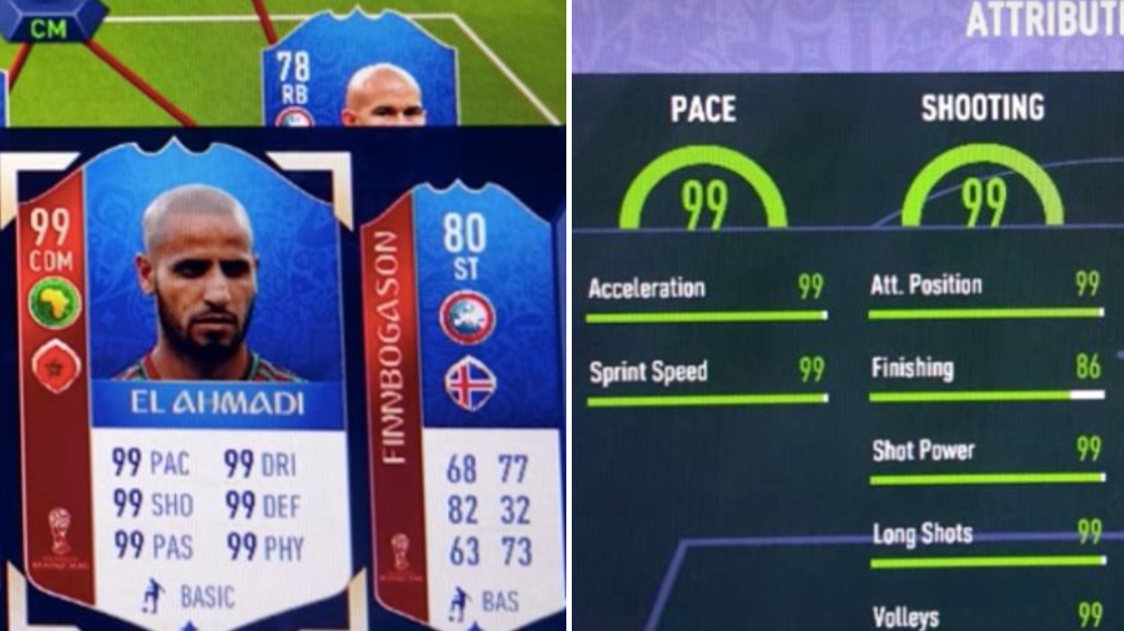 Meet Karim El Ahmadi: The 'Unstoppable' 99-Rated Player On FIFA World Cup Mode
