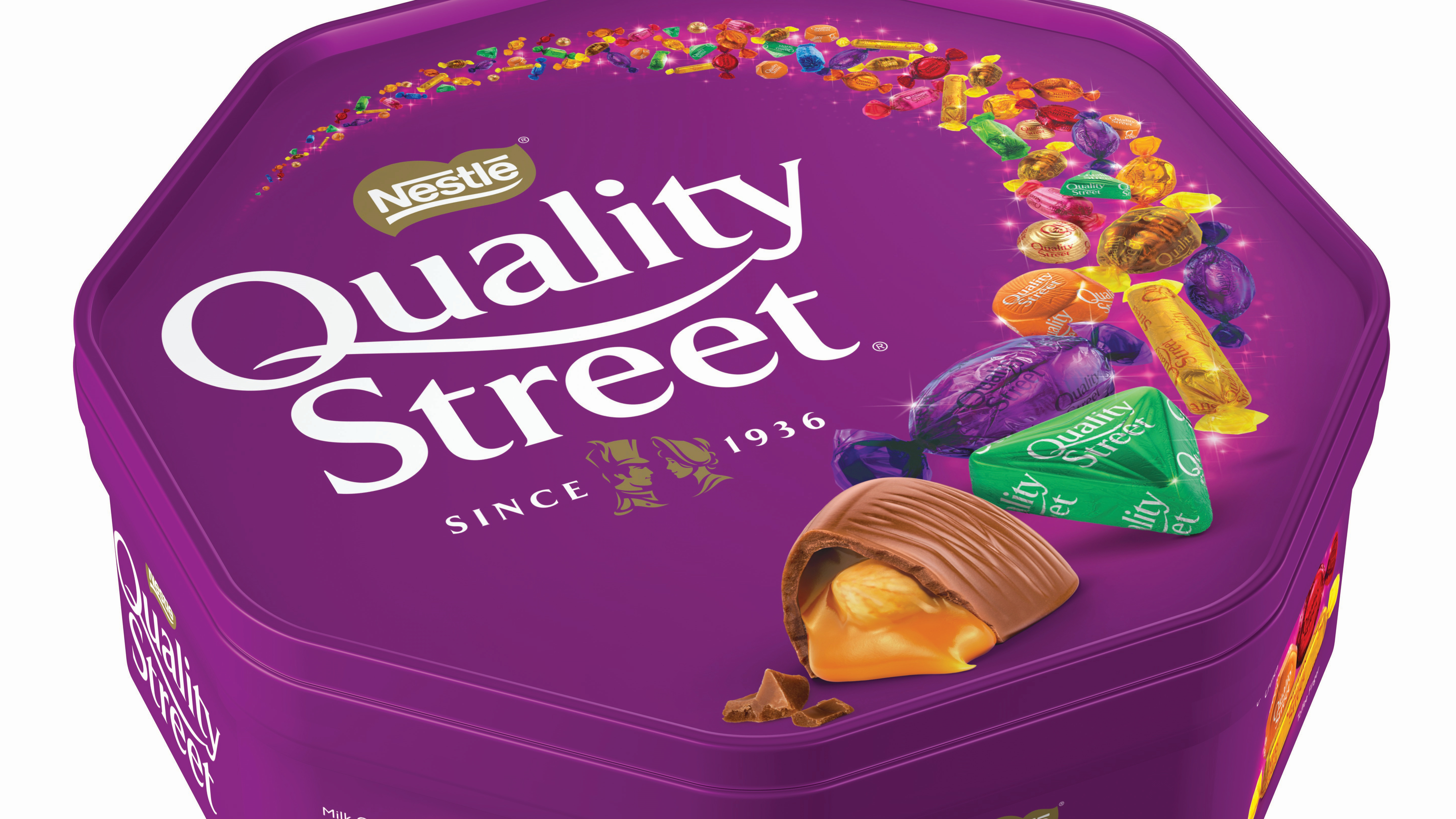 Boxes of Quality Street have been reduced by 30g. Credit: Nestle