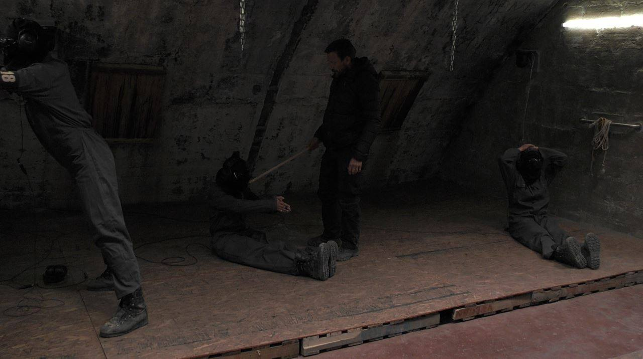 The final stage of the process was the interrogation phase. Credit: SAS: Who Dares Wins/Channel 4