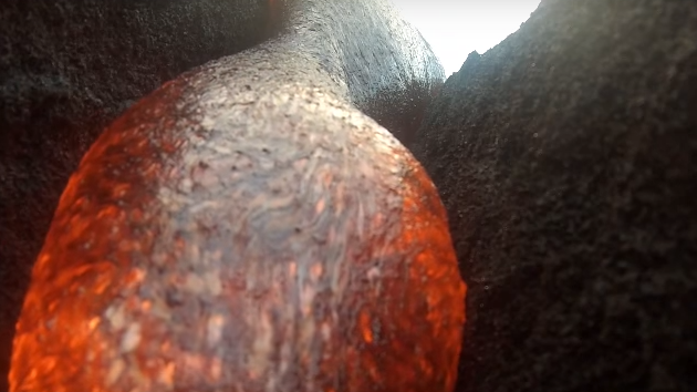 GoPro Camera Gets Swallowed By Lava – And Survives To Show The Tale