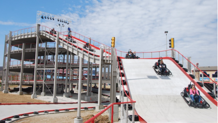 Mario Kart Just Got Real, Check Out This Multi-Level Track