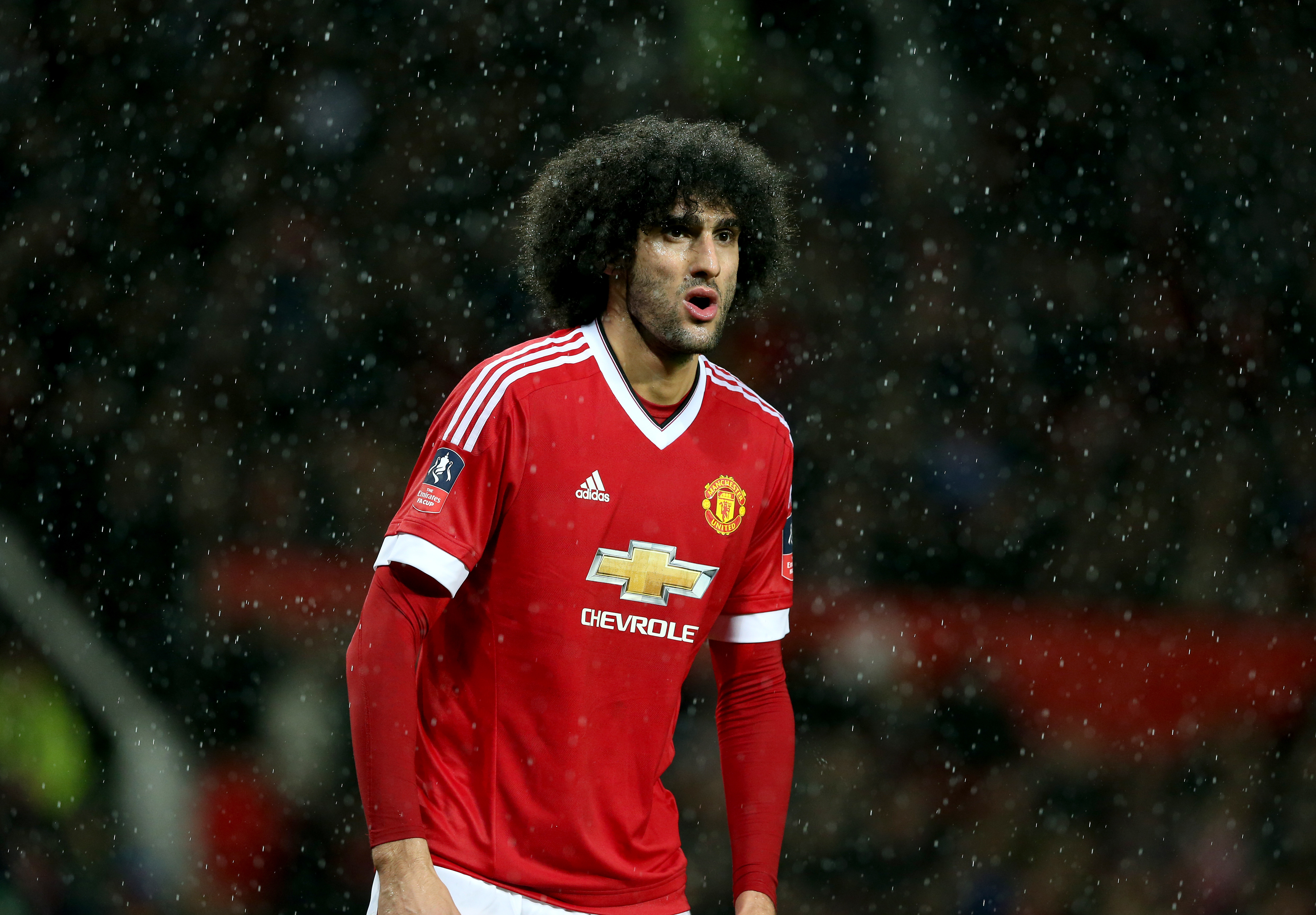 Marouane Fellaini Is Suing New Balance For A Bizarre Reason