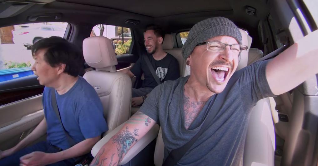 Chester Bennington's Carpool Karaoke has been released