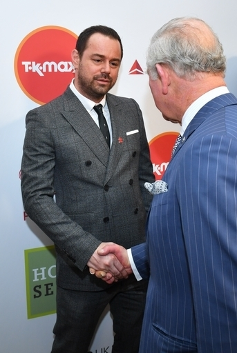 Prince Charles met Danny Dyer who explained their history. Credit: PA