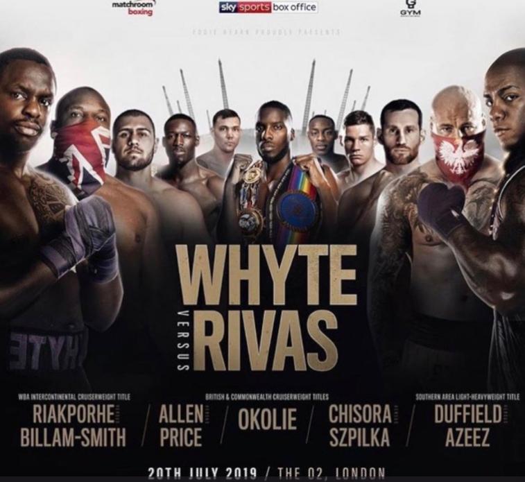 Image: Matchroom Boxing