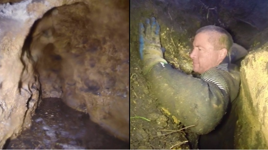 Video Footage Shows Exploration Of Incredible Australian Claustrophobic Cave
