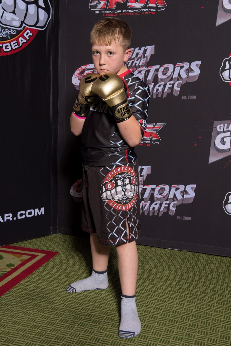 Alfie won his first fight in just 22 seconds. Credit: Caters