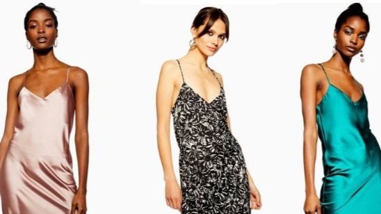 You Need This Topshop Satin Slip Dress In Your Wardrobe