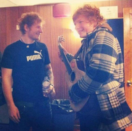 The bingo hall worker says it's hard telling people that he's not actually the real Ed. Credit: Ty Jones