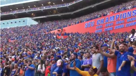 Packed Florida Gators' Stadium Sings Tom Petty Song In Tribute To Late Singer