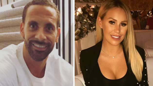 Rio Ferdinand And Kate Wright Look Closer Than Ever In Loved-Up Snap
