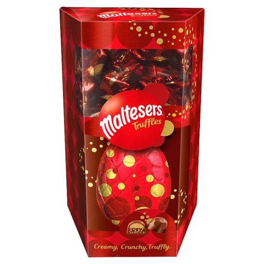 The egg also contains Malteser Truffles so you can treat yourself twice. (Credit: Tesco)
