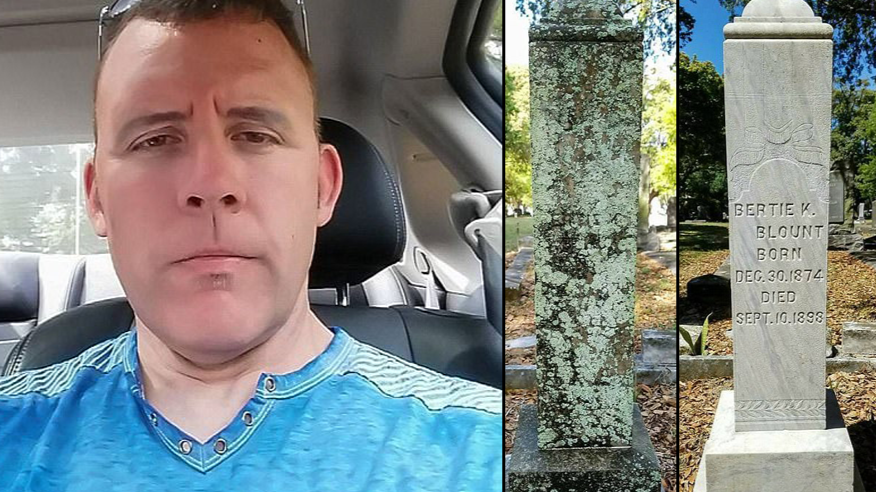 LAD Dedicates His One Day Off A Week To Restoring Veterans' Tombstones