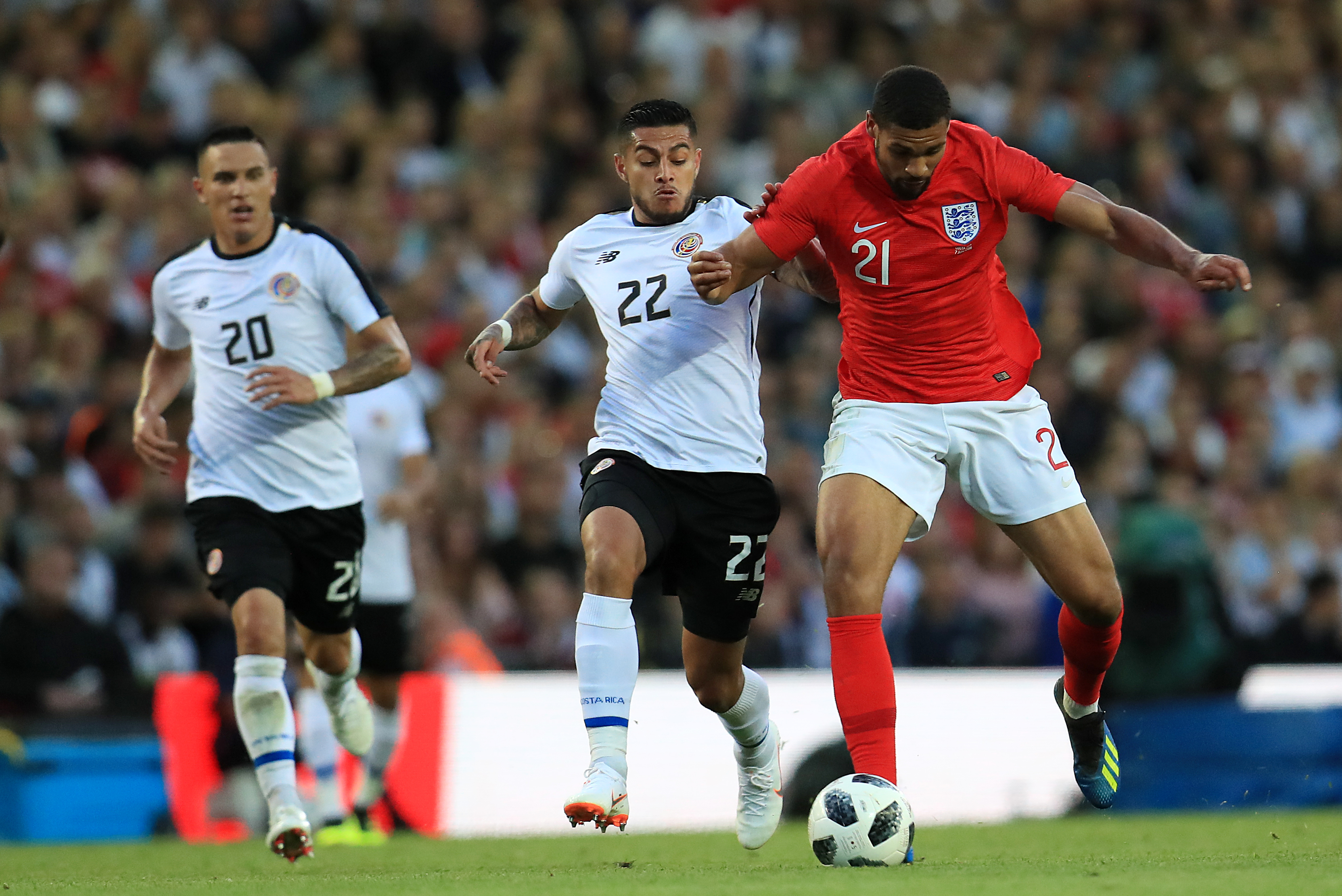 Loftus-Cheek in action for England. Image: PA