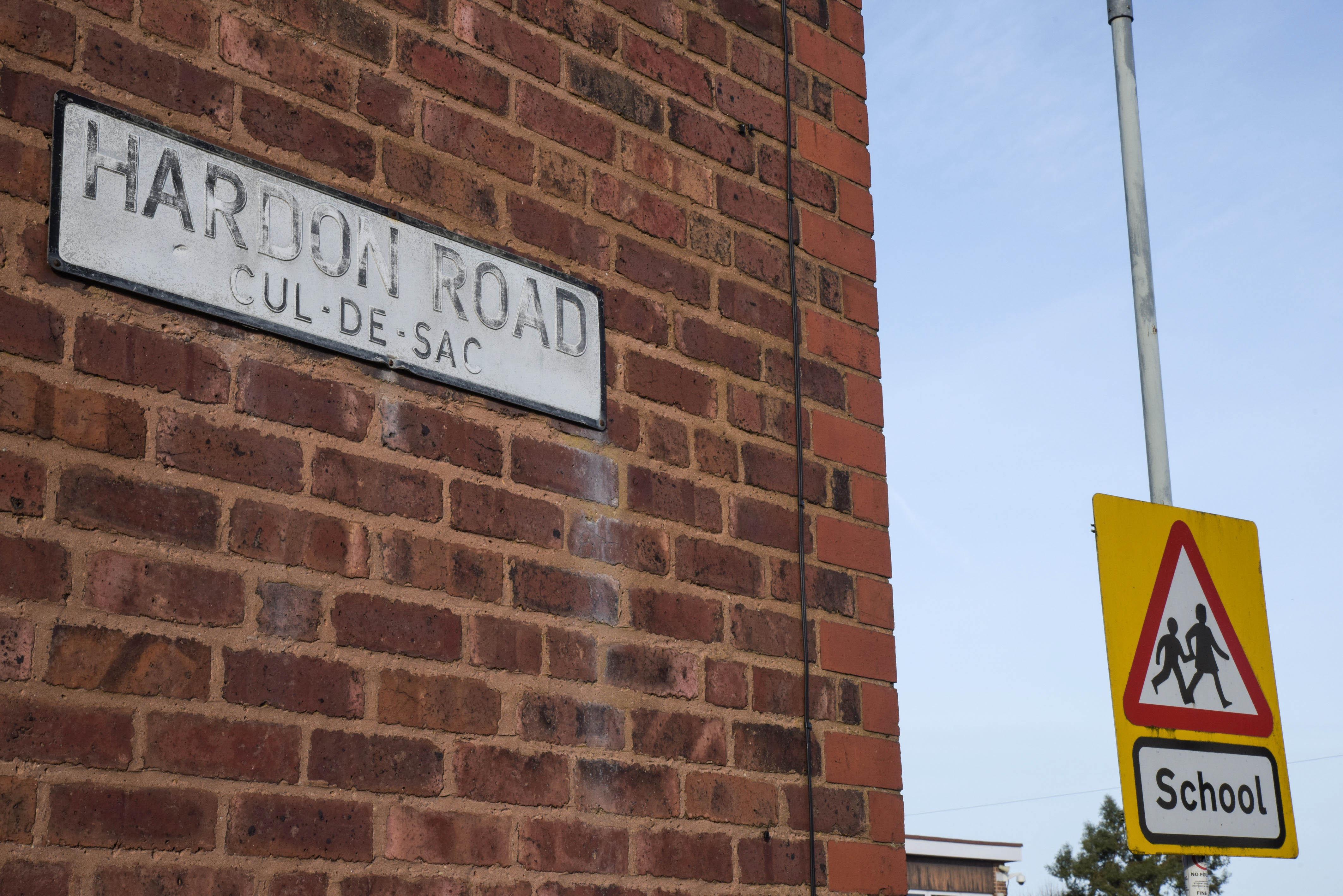 Hardon Road in Wolverhampton. Credit: Caters